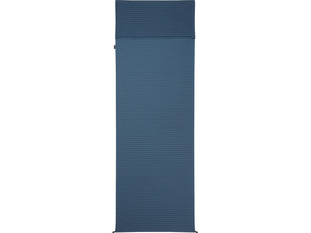 Mountain Equipment Groundup Liner Rectangular denim blue stripe